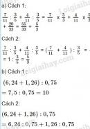 Bài 4 trang 164 sgk toán 5 phép chia