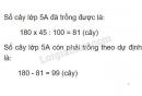 Bài 4 trang 165 sgk toán 5
