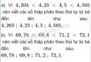 Bài 4 trang 151 sgk toán 5 ôn tập về số thập