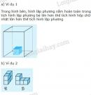 Lý thuyết về thể tích một hình