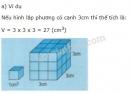 Lý thuyết về thể tích hình lập phương