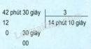 Lý thuyết chia số đo thời gian cho một số
