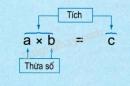 Lý thuyết phép nhân