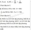 Bài 1, 2, 3 phần 1 trang 178 sgk toán 5