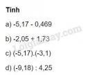 Bài 18 trang 15 sgk toán 7 tập 1