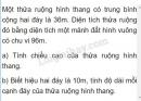 Bài 2 trang 172 sgk toán 5 tiết 167 luyện tập
