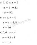 Bài 2 trang 176 sgk toán 5 tiết 170 luyện tập