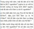 Bài 2 phần 2 trang 180 sgk toán 5