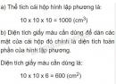 Bài 2 trang 168 sgk toán 5