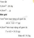Bài 3 trang 170 (Một số dạng bài toán đã học)  SGK Toán 5