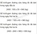 Bài 3 trang 176 sgk toán 5 tiết 170 luyện tập