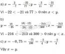 Bài 3 trang 8 SGK Toán 7 tập 1