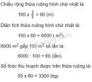Bài 3 trang 167 sgk toán 5 luyện tập