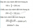Bài 3 trang 175 sgk toán 5 tiết 169 luyện tập