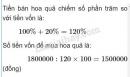 Bài 4 trang 176 SGK Toán 5