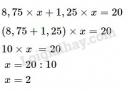 Bài 5 trang 177 sgk toán 5 tiết 171 luyện