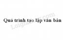 Soạn bài Quá trình tạo lập văn bản trang 45 SGK Ngữ văn 7 tập 1