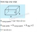 Lý thuyết ôn tập về tính diện tích, thể tích một số hình