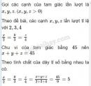 Bài 10 trang 56 sách giáo khoa toán 7 tập 1