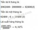 Bài 100 trang 49 sgk toán 7 tập 1