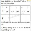 Bài 3 trang 54 sách giáo khoa toán 7 tập 1