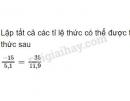 Bài 48 trang 26 SGK Toán 7 tập 1