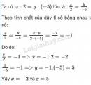 Bài 55 trang 30 sgk toán 7 tập 1