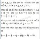 Bài 64 trang 31 SGK Toán 7 tập 1