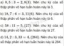 Bài 69 trang 34 sgk toán 7 tập 1