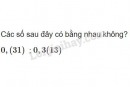 Bài 72 trang 35 sgk toán 7 tập 1