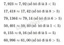 Bài 73 trang 36 sgk toán 7 - tập 1