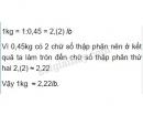 Bài 80 trang 38 SGK Toán 7 tập 1