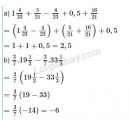 Bài 96 trang 48 sgk toán 7 tập 1