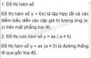 Lý thuyết về đồ thị hàm số y = ax (a ≠ 0)