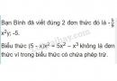 Bài 10 trang 32 sgk toán 7 - tập 2