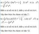 Bài 13 trang 32 sgk toán 7 - tập 2