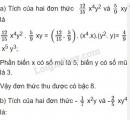 Bài 22 trang 36 sgk toán 7 - tập 2