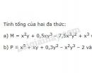 Bài 33 trang 40 sgk toán 7 - tập 2