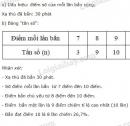 Bài 8 trang 12 sgk toán 7 - tập 2
