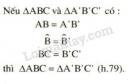Lý thuyết. Trường hợp bằng nhau thứ hai của tam giác cạnh - góc - cạnh(c.g.c)