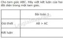 Bài 1 trang 86 SGK Toán 7 tập 2