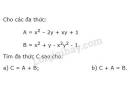 Bài 38 trang 41 sgk toán 7 - tập 2
