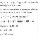Bài 4 trang 89 sgk toán 7 tập 2