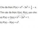Bài 45 trang 45 sgk toán 7 - tập 2