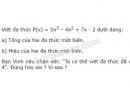 Bài 46 trang 45 sgk toán 7 - tập 2