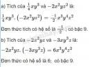 Bài 61 trang 50 sgk toán 7 tập 2