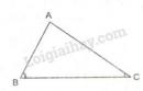 Lý thuyết quan hệ giữa góc và cạnh đối diện trong một tam giác
