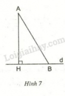 Lý thuyết quan hệ giữa đường vuông góc và đường xiên, đường xiên và hình chiếu
