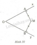 Lý thuyết tính chất ba đường phân giác của một góc