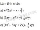 Bài 1 trang 5 SGK Toán 8 tập 1